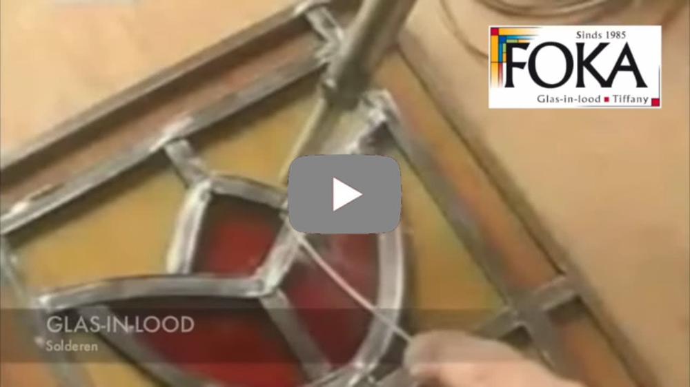 Foka Glas In Lood.Foka Glas In Lood Complete Instructie Video Voor Het Zelf