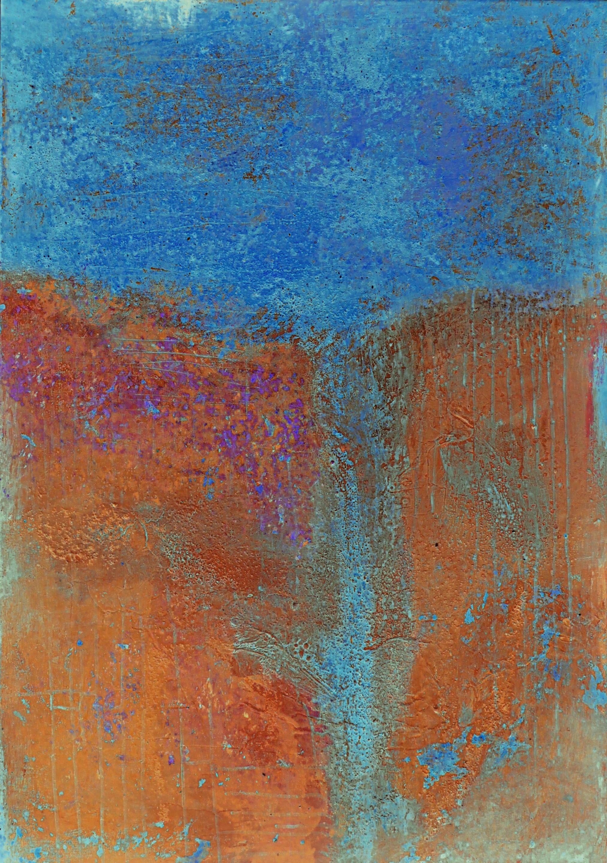 Farben und Strukturen, digitale Versionen meiner Bilder 9/1