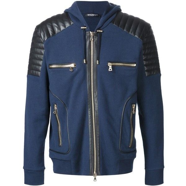 963499e1355 Balmain - Men's Designer Clothing & Fashion - Farfetch ($1,040) ❤ liked on  Polyvore featuring men's fashion