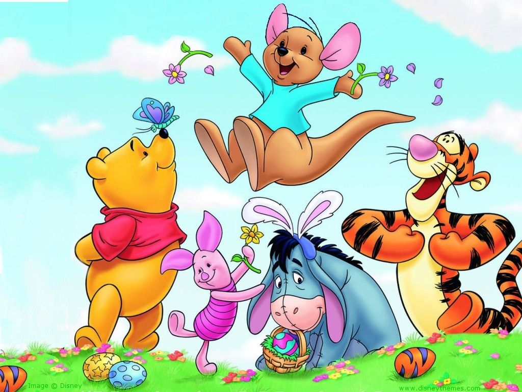 20 Blue Carton Wallpapers For Kids Cuded Winnie The Pooh Pictures Winnie The Pooh Winnie The Pooh Friends