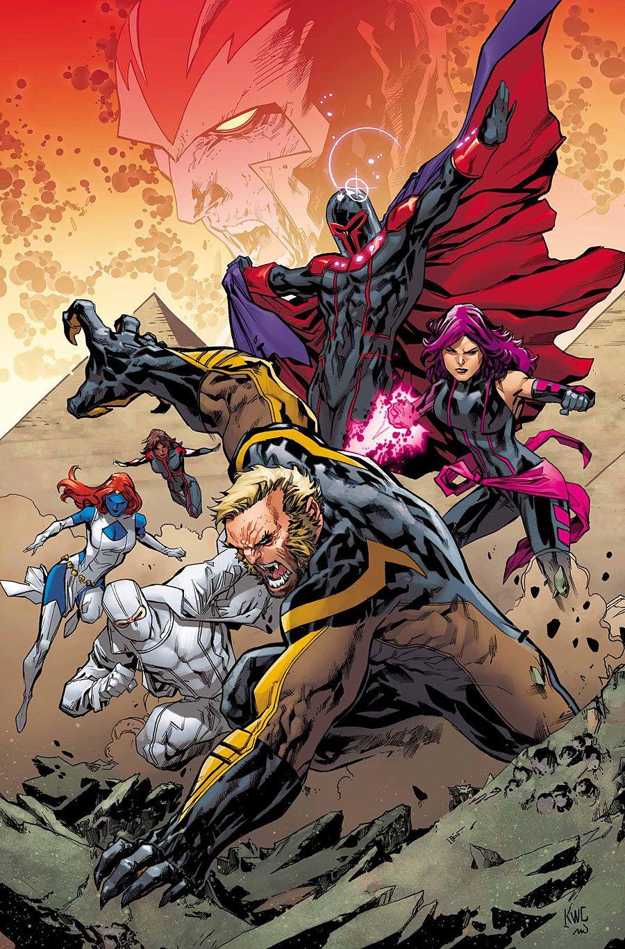 Uncanny X-Men #6 variant cover by Ken Lashley *