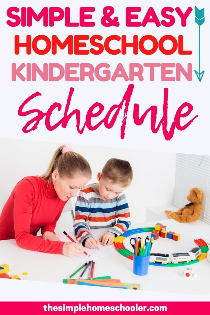 Photo of Homeschool Kindergarten Schedule: Simple and Easy to Follow!