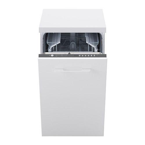 Medelstor Lave Vaisselle Encastrable Gris Integrated Dishwasher Dishwasher Ikea