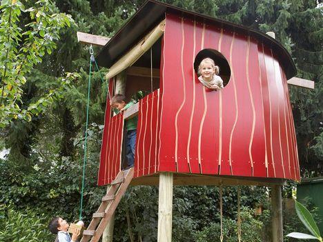 mit Anleitung baumhaus eva Pinterest Spielhaus für kinder