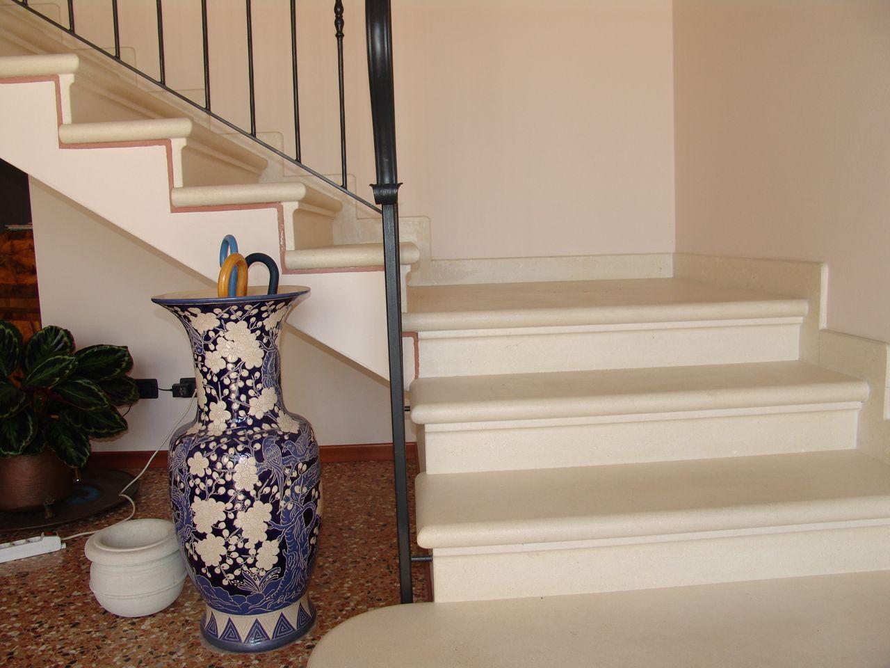 Come Dipingere Le Pareti Di Una Scala Interna scale di marmo bianco - cerca con google (con immagini