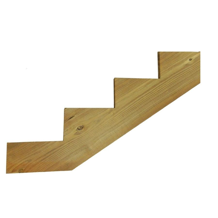 Best Severe Weather 4 Step Pressure Treated Pine Deck Stair 400 x 300