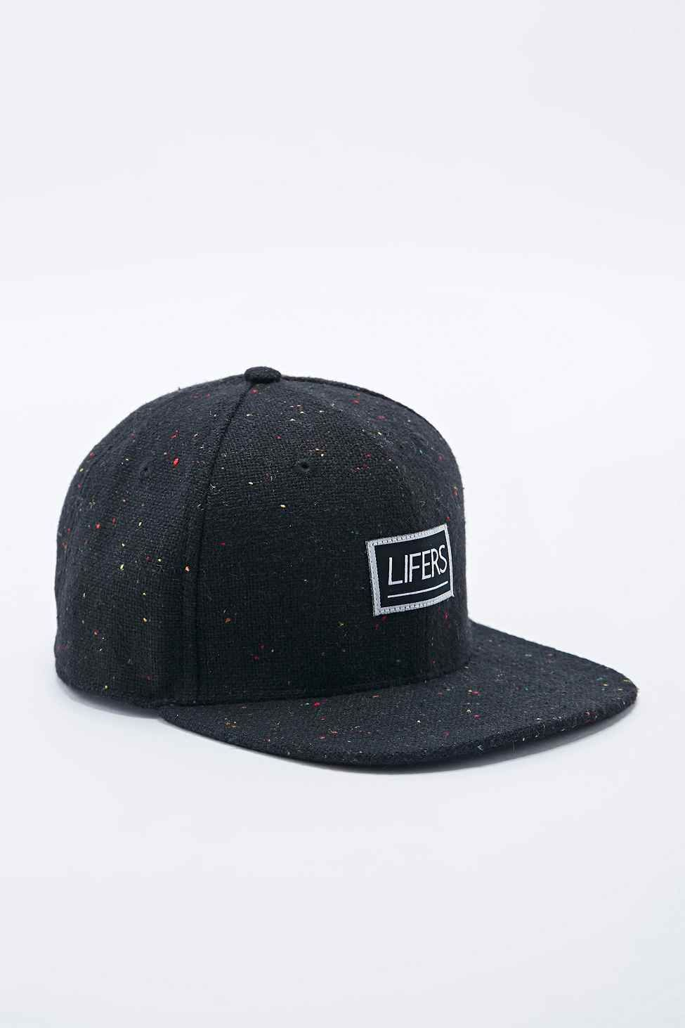 05a07b23be8 Lifers Neppy Snapback Cap in Black - Urban Outfitters