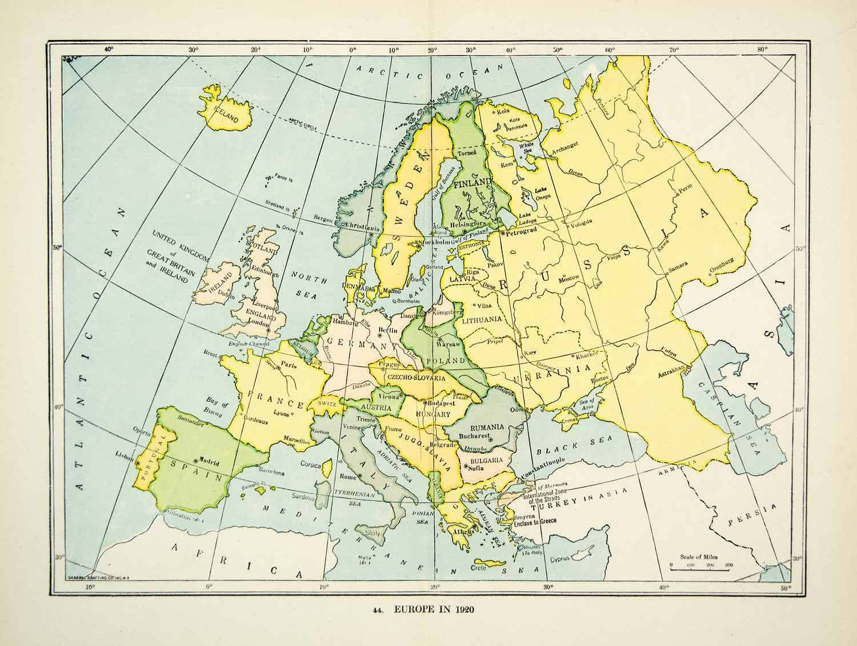 Antique Europe Maps u0026 Atlases eBay