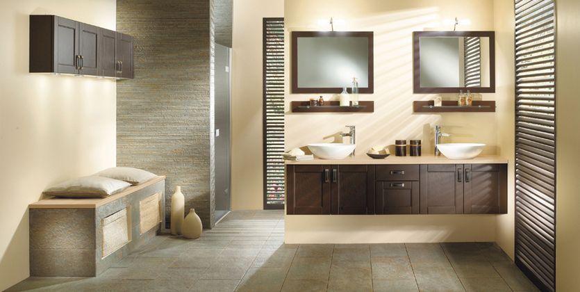 Modèles de salles de bains