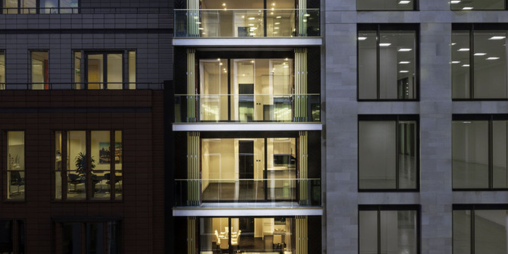 modern urban apartment building - Google Search | Brick ...