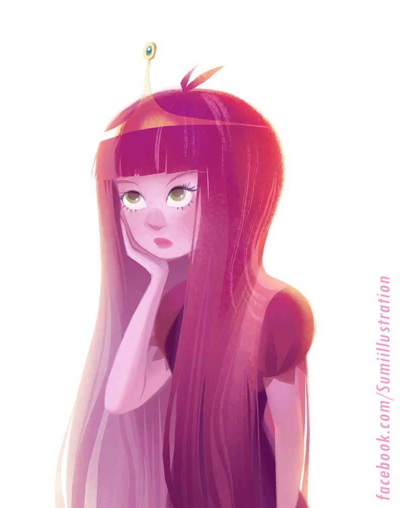 Adventure time princess bubblegum by blumina on deviantart