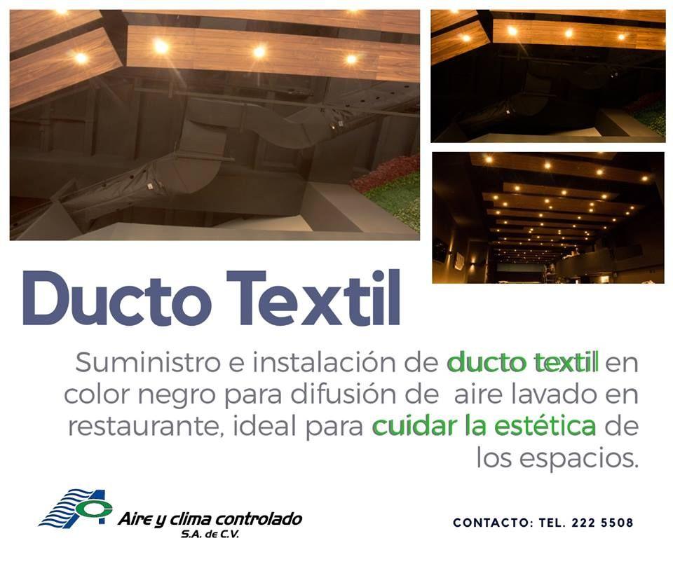 Ducto Textil Mantenimiento De Aire Acondicionado Instalacion Centro De Cómputo