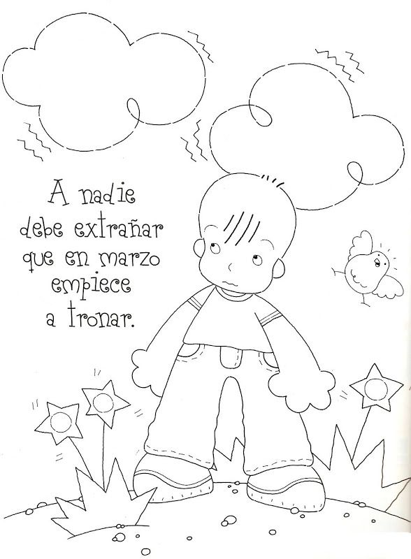 Poesías y rimas infantiles de los meses para niños | Tableros para ...