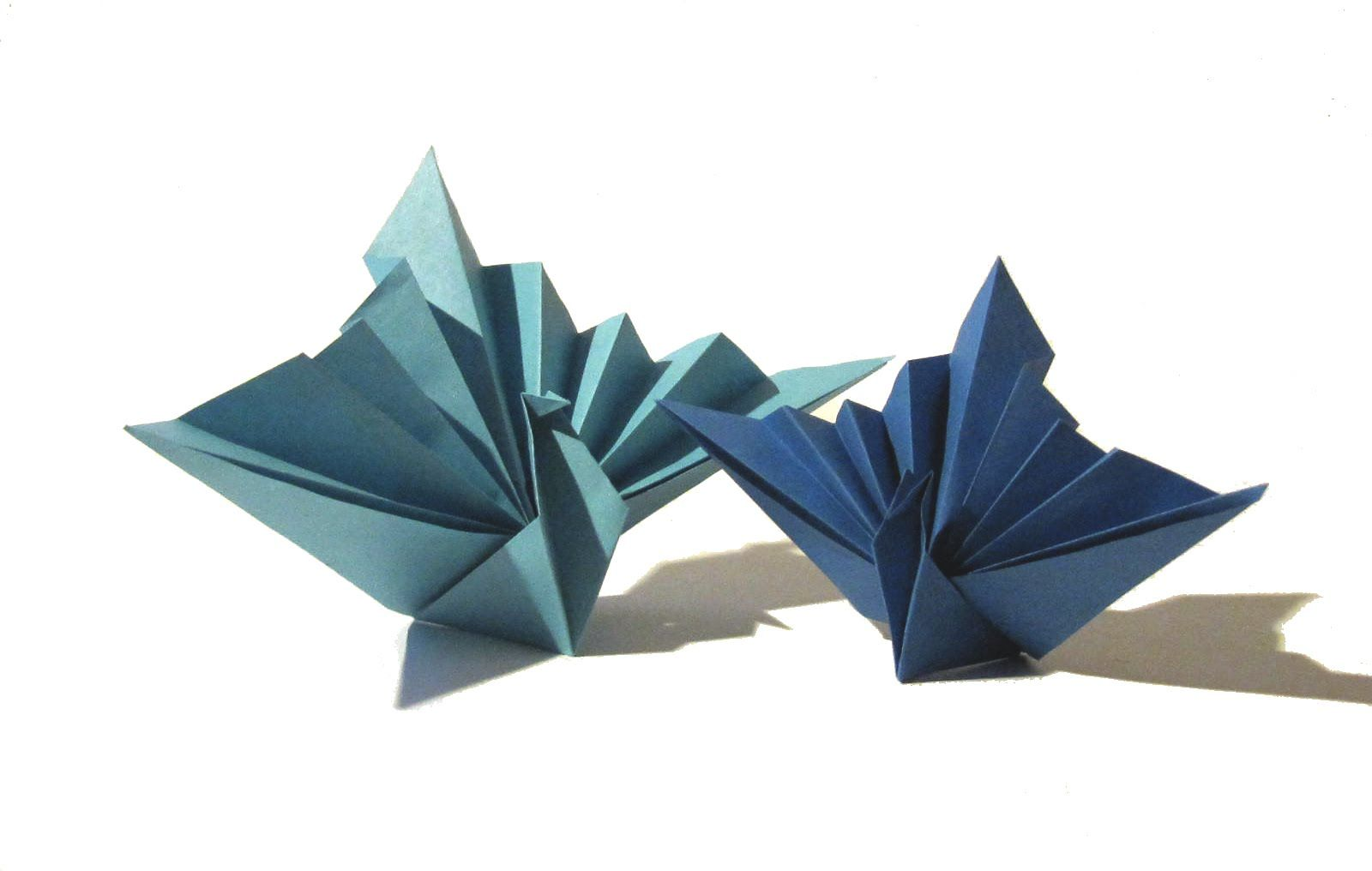 Easy Origami Bird - Origami Tutorial - How to make an easy ... - photo#42