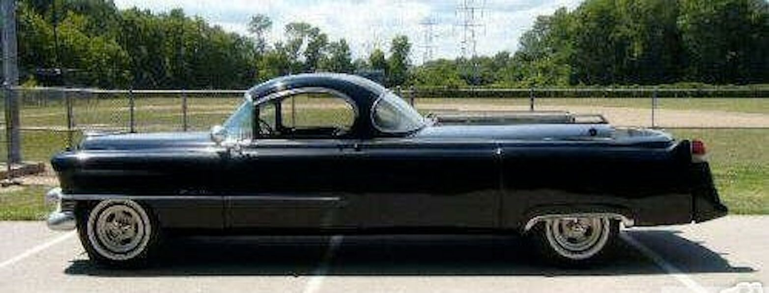 1954 Cadillac Superior Flower Car The Mags Are Stupid But