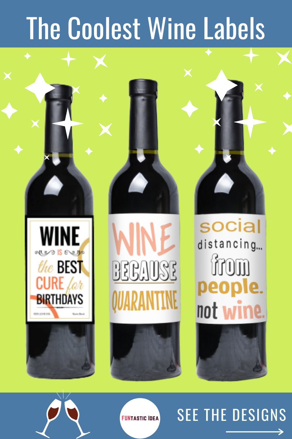 The Coolest Wine Labels Printable in 2020 Funny wine