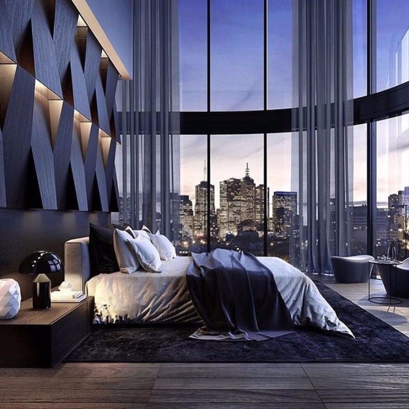 Lets End With This Contemporary Vision Of The Future As Bedroom Design Contains All Elements That Compose A Great