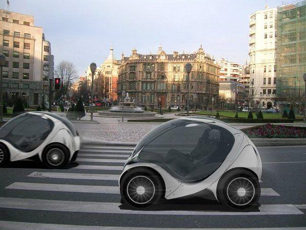 Hiriko Foldable Electric Car Electric Cars Car Electric Car