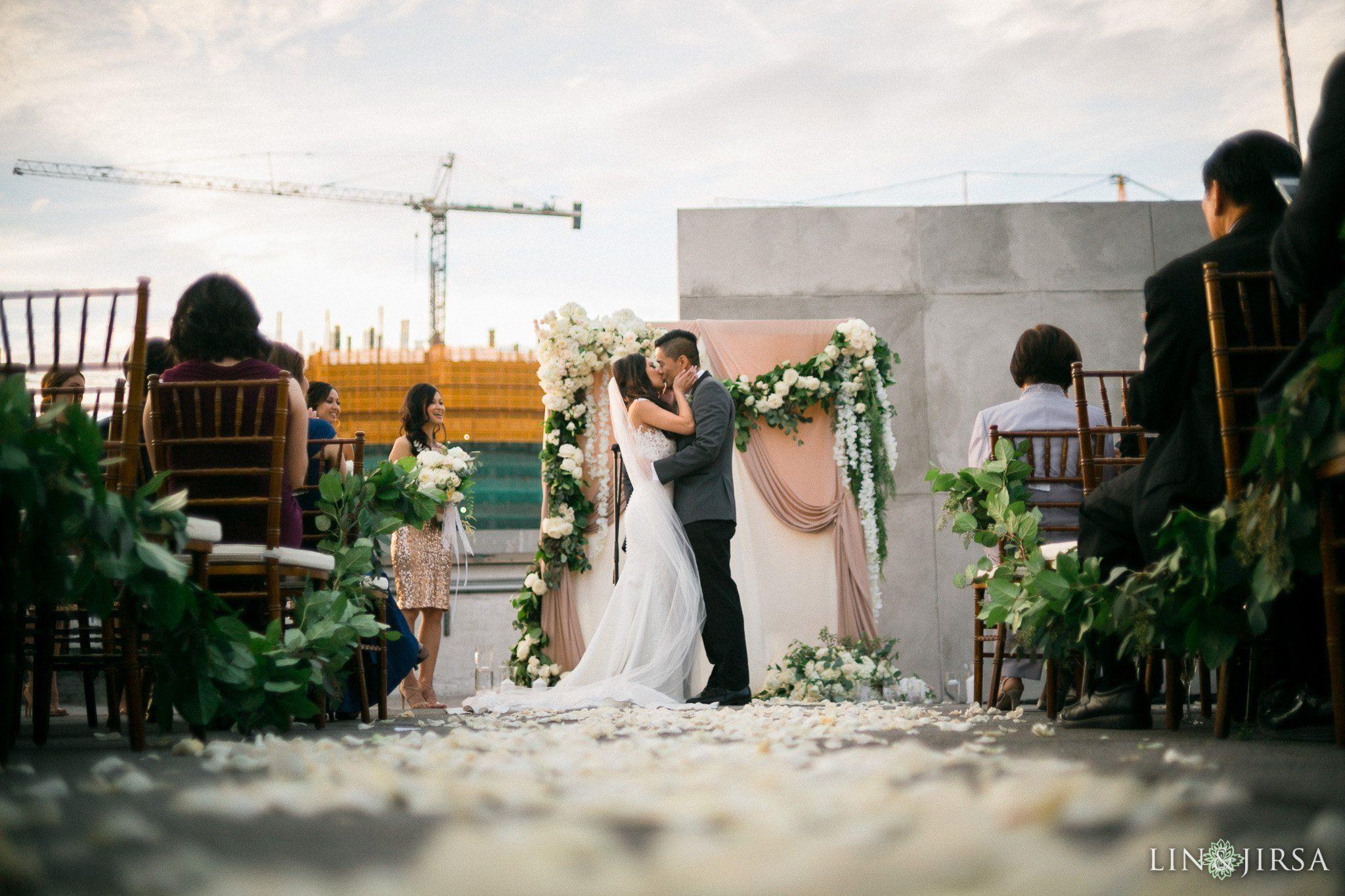 Hudson Loft Downtown LA Wedding | Vy