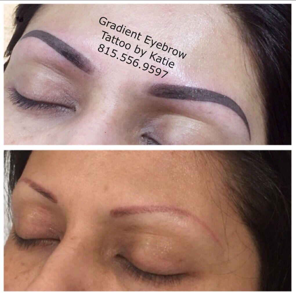 Gradient Eyebrow Tattoo Chicago Eyebrow Pinterest Eyebrow