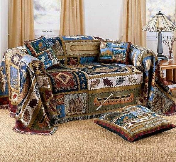 Creative Sofa Cover Ideas Colorful Country Style Duvet Decorative Pillow Side Table Sofa Covers Cheap Sofas Cheap Couch Covers