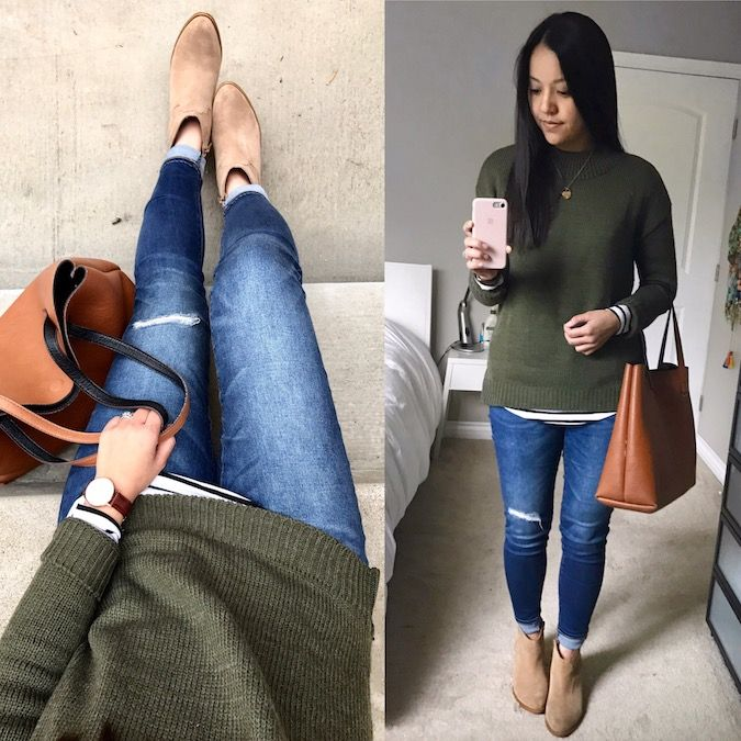 Instagram Roundup #18 + Olive Sweater is $23!