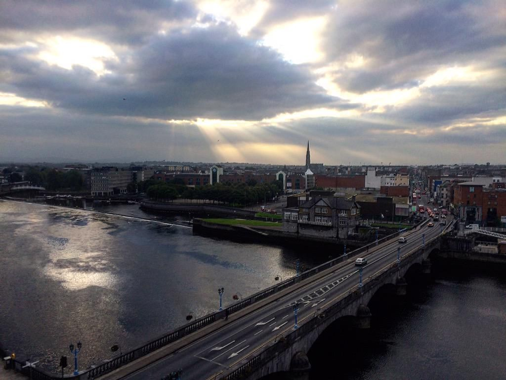 Amazing sky in Ireland welcomes my session on #NIST #Cybersecurity Framework. @DellSoftware @DellSecurity @ISACANews