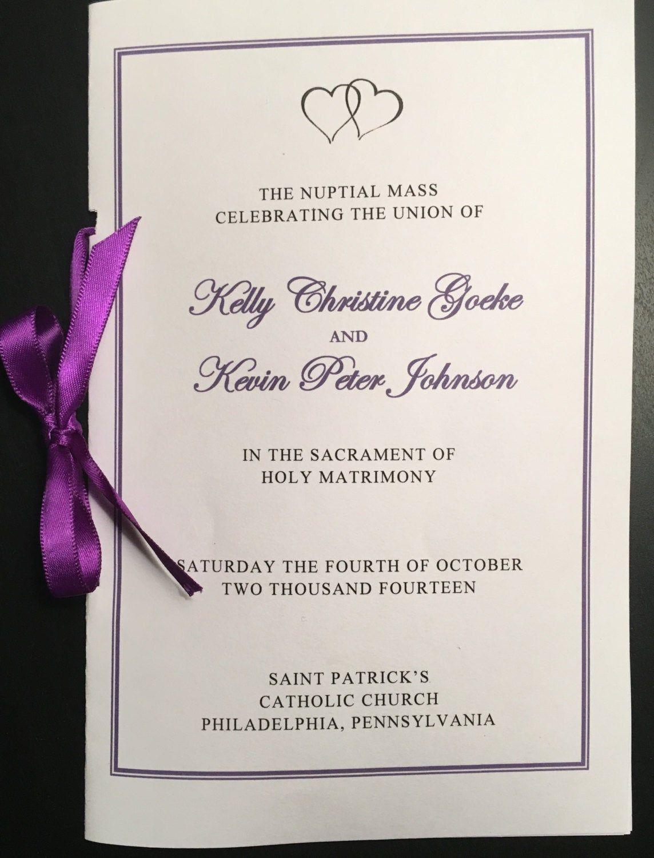 Pin on Catholic wedding ceremony