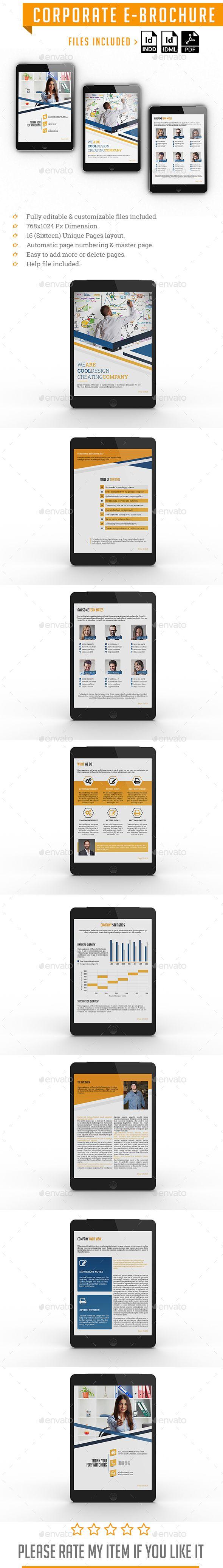 corporate e brochure epublishing e publishing templates