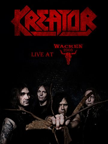 Kreator Live at Wacken 2008 - On Qello