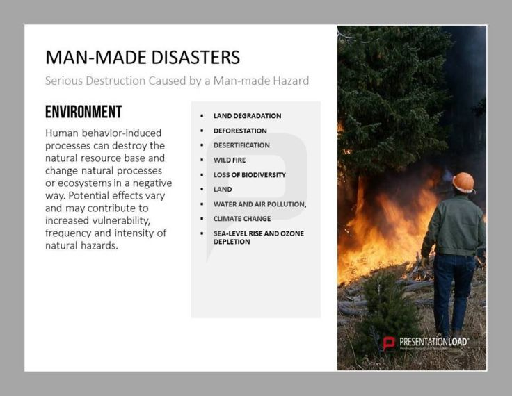 manmade and natural disaster analysis In the event of natural disasters or manmade incidents that pose threats to the safety and health of the individuals served, the dmh will coordinate the collective responses of all programs to meet the needs of any program directly involved in the disaster.