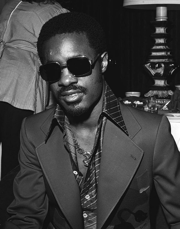 Stevie Wonder | Stevie wonder, Black, white photography ...