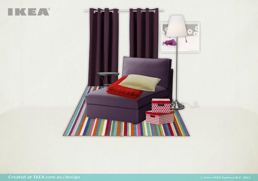 relaxing corner, created with IKEA Australia's new moodboard tool.