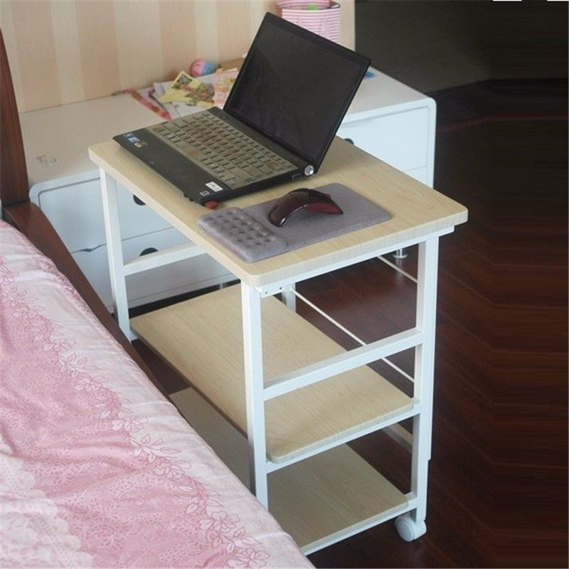 Bsdt Yu Furniture Notebook Comter Desk Bedside Table Can Be Folded 3 Layer With