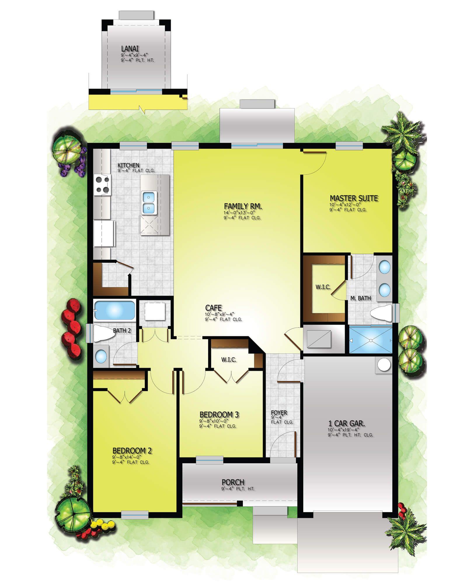 Urban 360 New Affordable Homes Tampa Domain Homes Fiberglass Exterior Doors Garage Interior Finished Garage