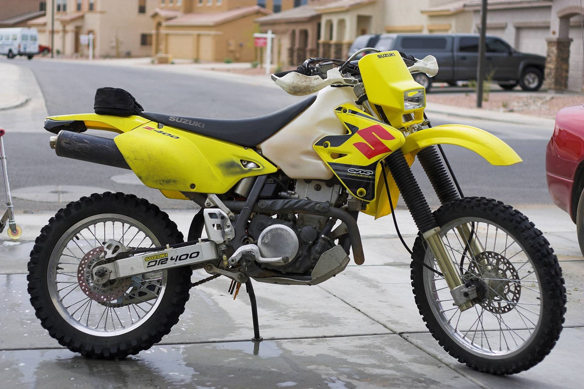 My Suzuki Drz400e Enduro Street Legal Dirt Bike Street Legal