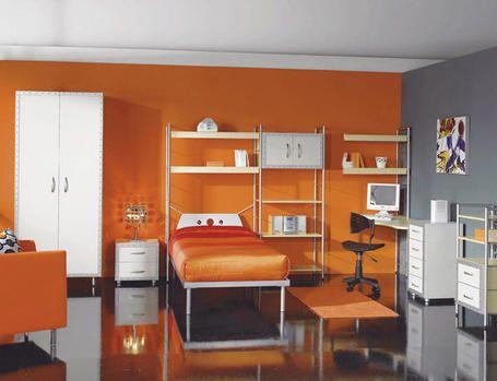 decoracionhabitacionjuveniljpg 455349 cuartos en gris y