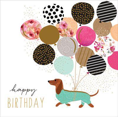 Happy Birthday Sausage Dog Portfolio With Images Happy