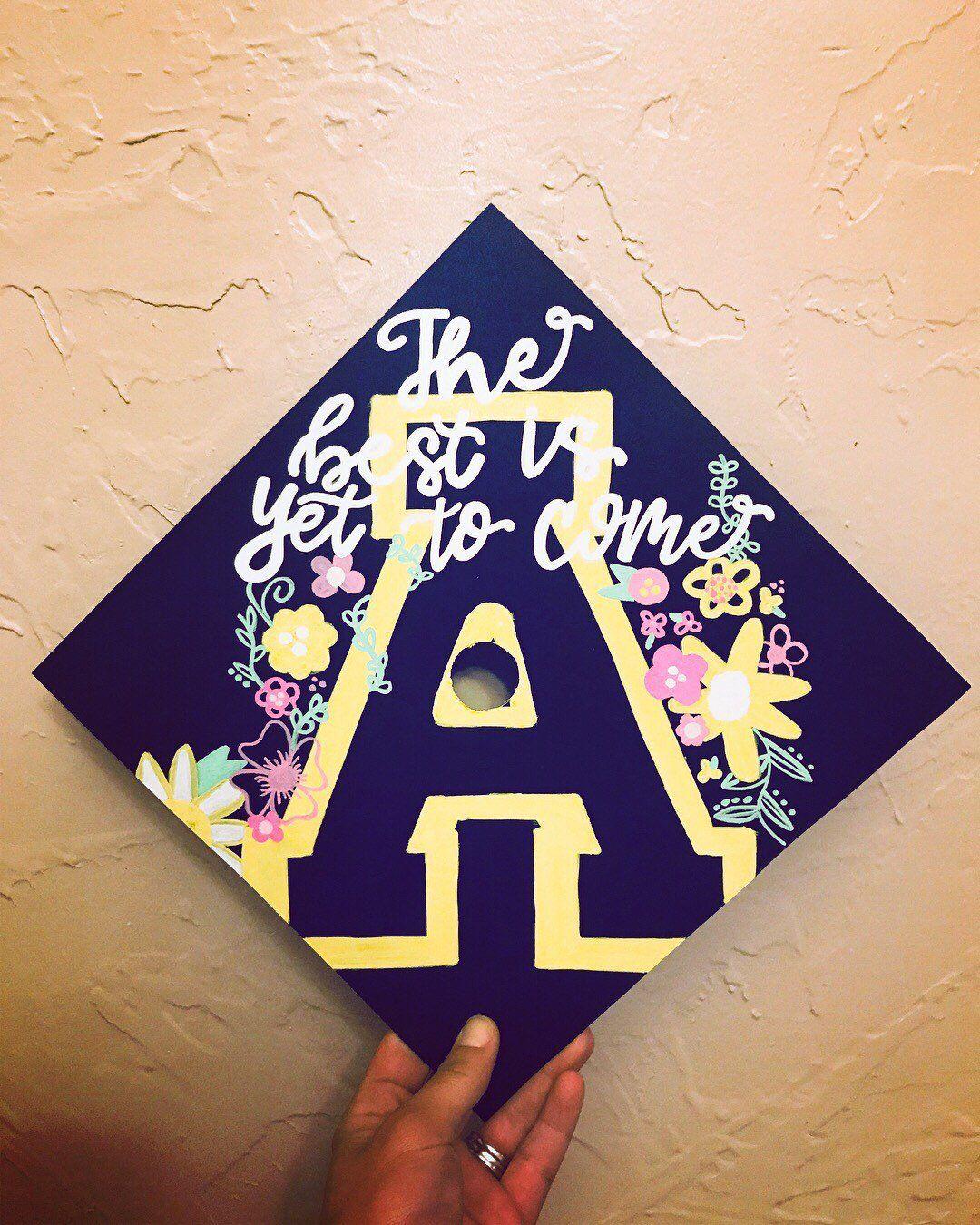 from house of letters etsy shop custom graduation cap grad cap