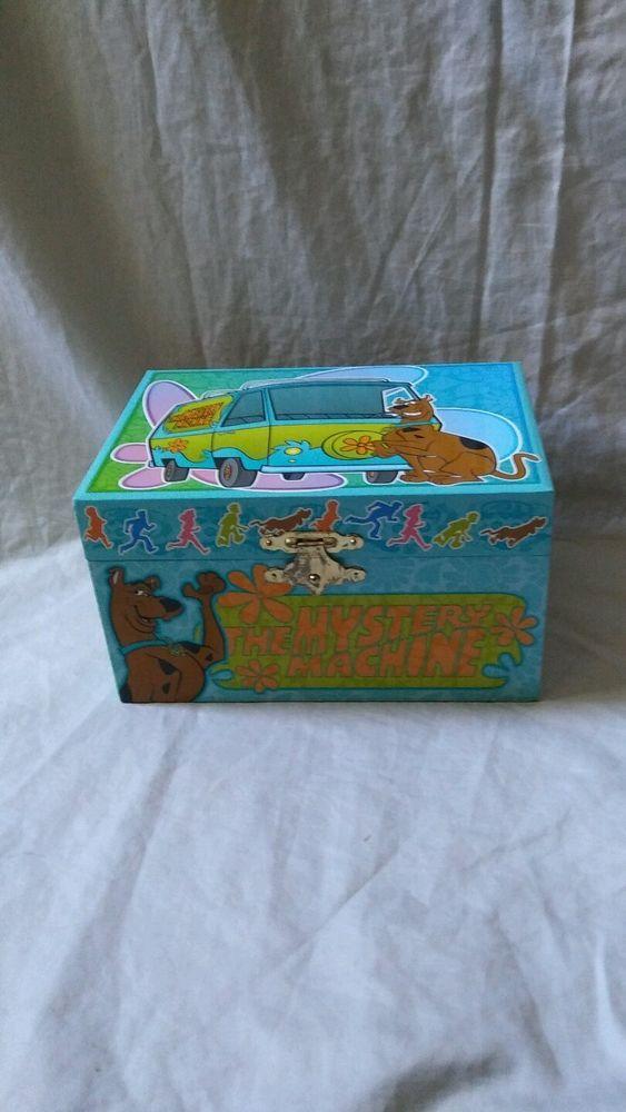 Kids Musical Scooby Doo Mystery Machine Jewelry Trinket Box Scooby