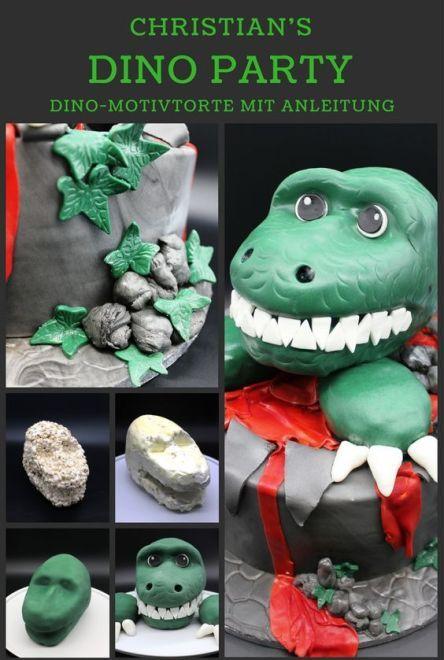 Dinosaurier Motivtorte Dino Motivtorte
