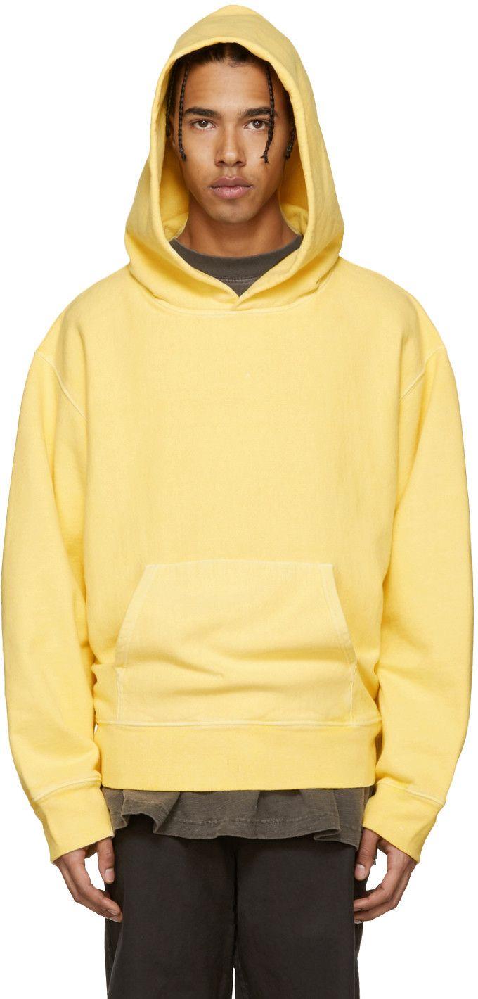 f1db99d82 YEEZY Season 3 - Yellow Fleece Hoodie