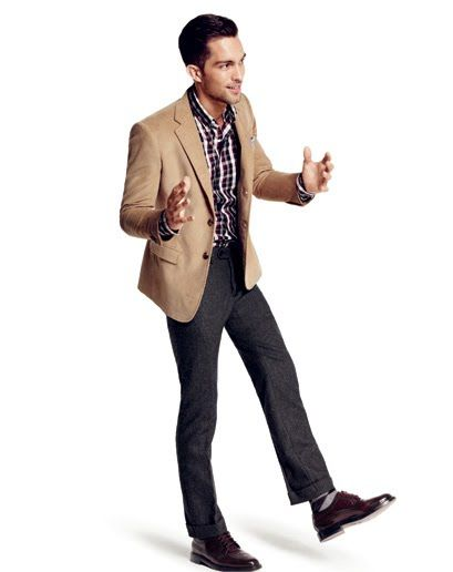 80ccbdfd9bd Go ahead - wear a non-matching blazer and pants - it shows creativity and  style