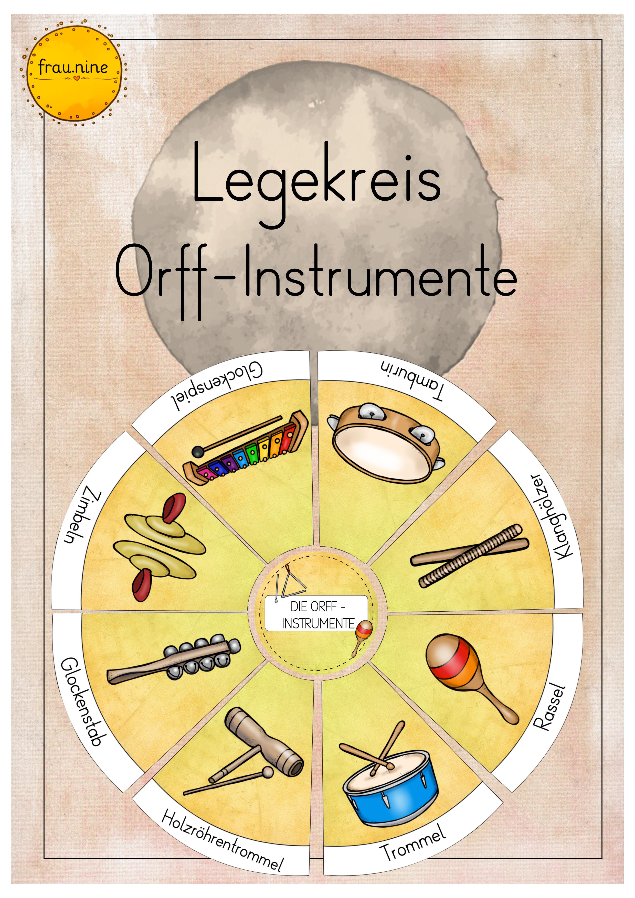 Ein Schulmonsterstarker Legekreis Orff Instrumente Unterrichtsmaterial Im Fach Musik Orff Instrumente Musik Fur Die Grundschule Musik Lernen
