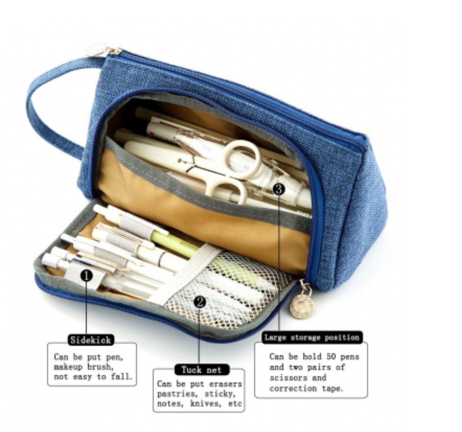 Samsonite Pencil round Pencil Case Pen Case Pencil Bag Folder Case