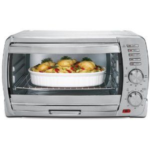 Oster Tssttvskbt 6 Slice Large Capacity Toaster Oven Brushed