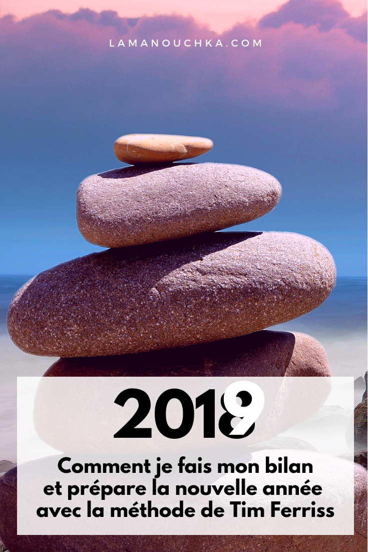 Bilan 2018 Et Objectifs 2019 Je Teste La Méthode De Tim