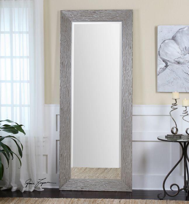 Uttermost Amadeus Mirror Frame Has A Metallic Silver