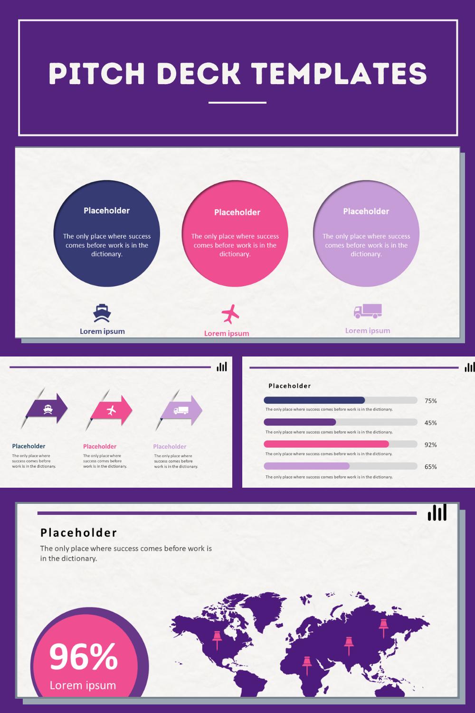 Pitch Deck Template 1500 Unique Slides In 2020 Infographic Templates Templates Powerpoint Templates