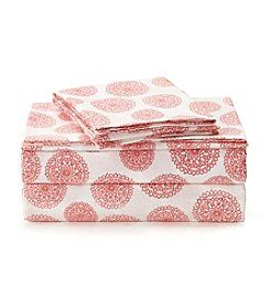 Jessica Simpson Lace Medallion Sheet Set